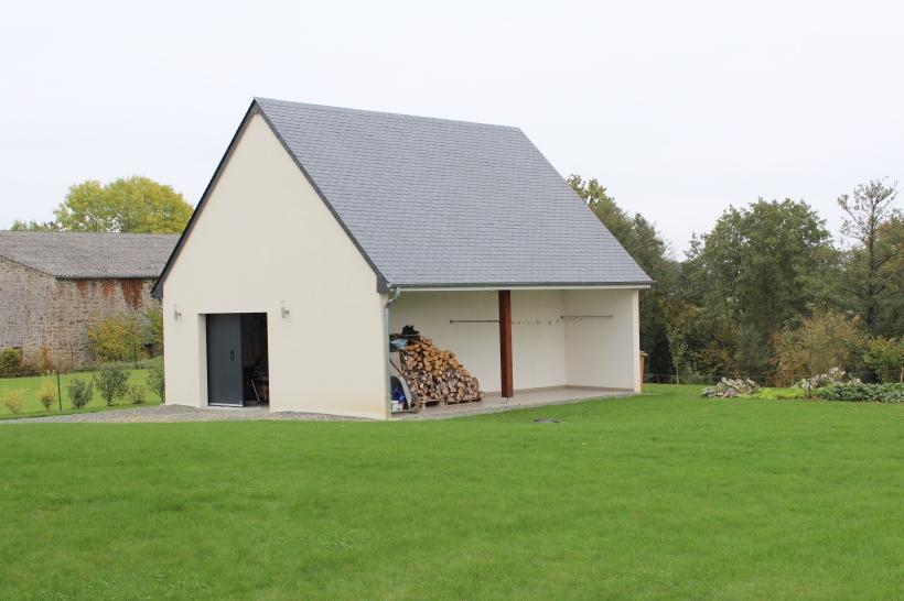 letertre maçonnerie | mayenne (53) - Construction D Un Garage En Parpaing
